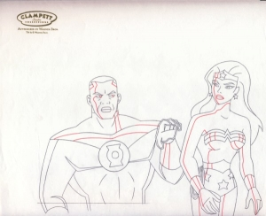 Green Lantern & Wonder Woman