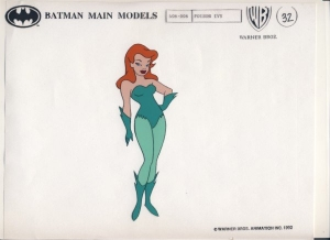 Poison Ivy Model Cel