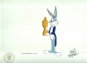 Bugs Bunny with award