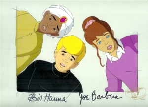 Jonny Quest and Hadji