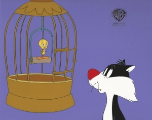 Tweety Bird and Sylvester