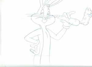 Bugs Bunny with matching cel