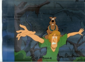Scooby Doo and Shaggy background