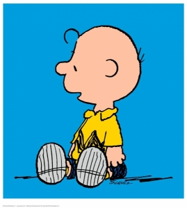 Charlie Brown Blue