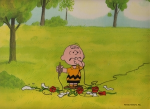 Charlie Brown with string