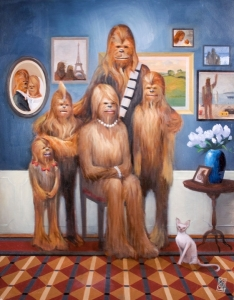 Wookiee Family Portrait