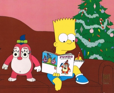Bart Simpson with Funzo