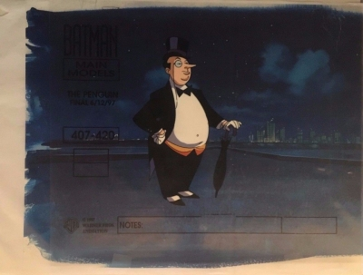 Penguin Model Cel