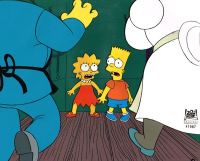 Bart and Lisa scare