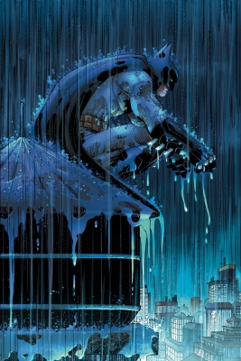 Batman: Two Storms canvas