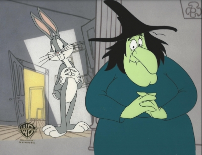 Bugs Bunny and Witch Hazel 1006