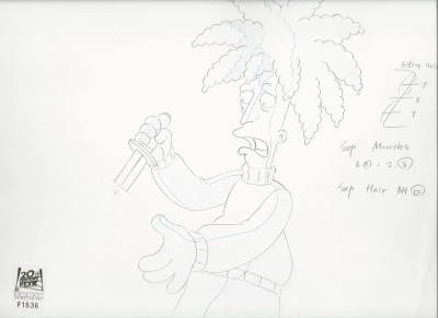 Sideshow Bob with knife 1
