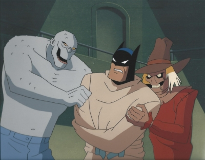 Batman, Clayface and Scarecrow