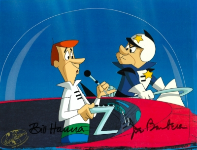 George Jetson and Officer 2