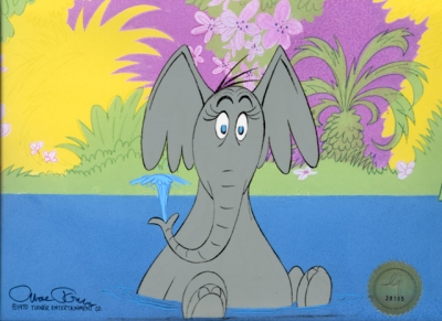 Horton Hears a Who sitting