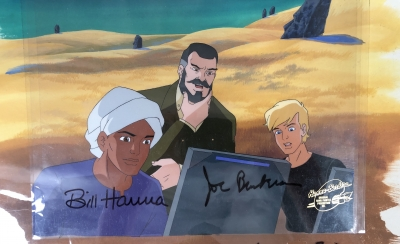 Jonny Quest and Hadji and Dr. Quest