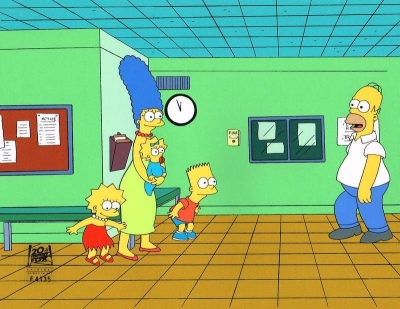 The Simpsons full family 9F17