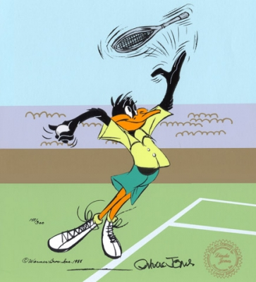 Daffy Tennis